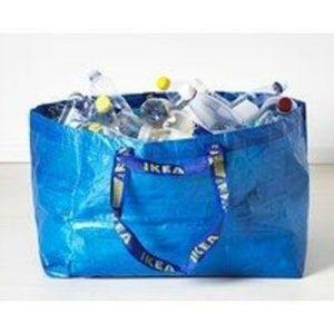 IKEA Bags - 4 Ikea Reusable Frakta Tote Bags Thrifting Grocery